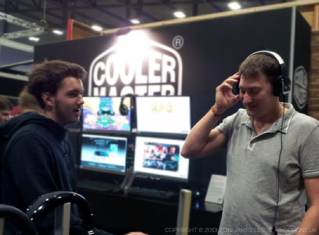 Everyone that tested Project: Pulse-J enjoyed the experience and were impressed with the quality. Insomnia gaming festival, cooler master, pulse-J, boonana J, team banana, jl designs..